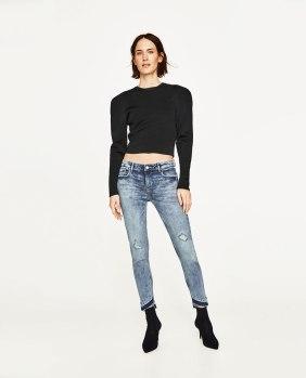 skinny Zara
