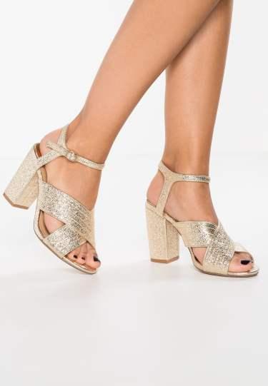 sandales gold Dorothy Perkins