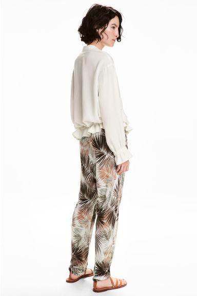 pantalon fluide H&m