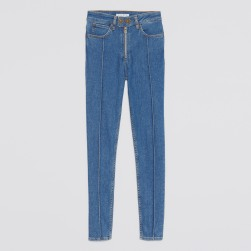 jeans patchwork sandro