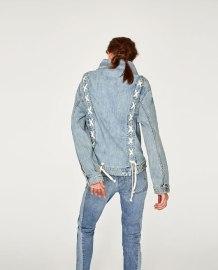 veste lace up Zara
