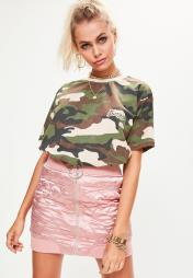 t-shirt Missguided X Barbie