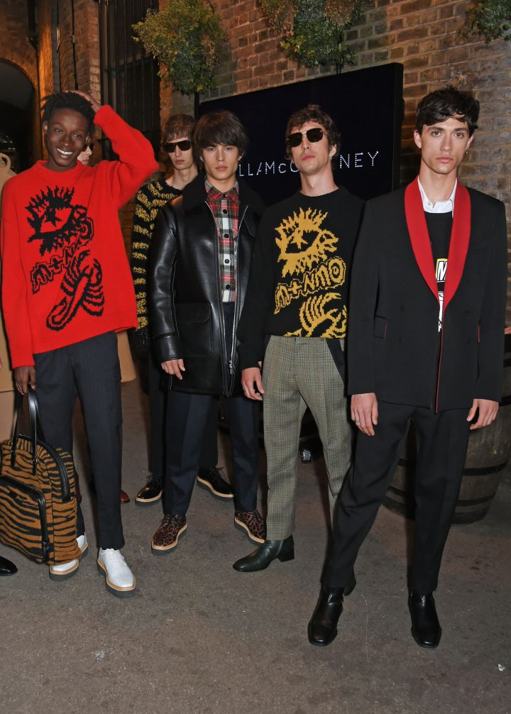Stella McCartney AW17 Menswear Collection Launch
