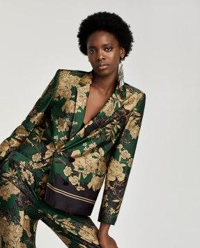 veste imprimée Zara
