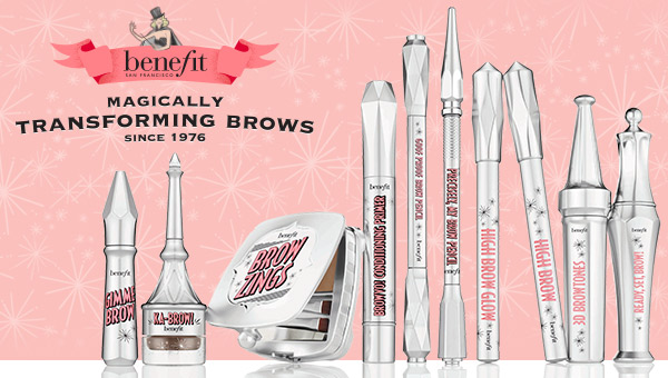 Defined & refined brows by Benefit