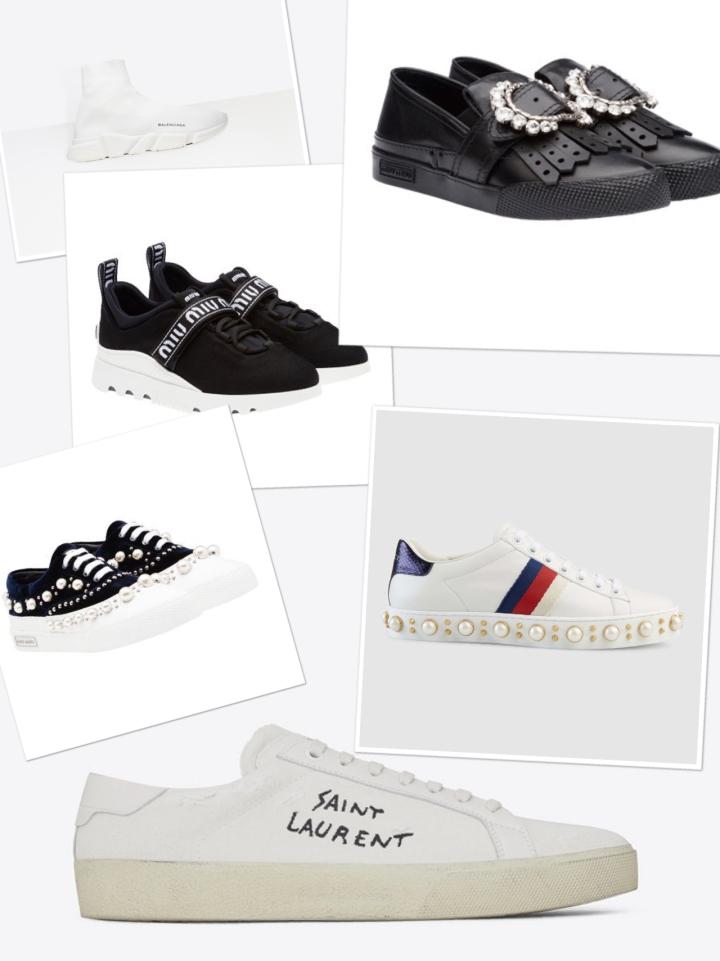 Luxury Sneakers : un medley vitrine destendances