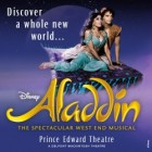 Spectacle musical Aladdin à Londres