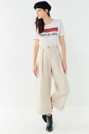 Wide leg pants uo