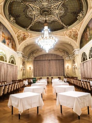 salle de banquet Montreux Palace