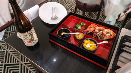 Crevettes géantes flambées au saké MP's
